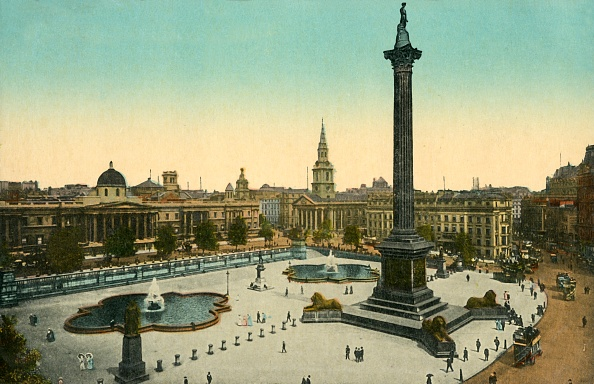 Post - Structure「The National Gallery And Nelsons Column」:写真・画像(17)[壁紙.com]