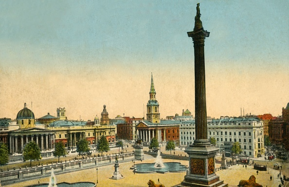 Travel Destinations「The National Gallery And Nelsons Column」:写真・画像(18)[壁紙.com]