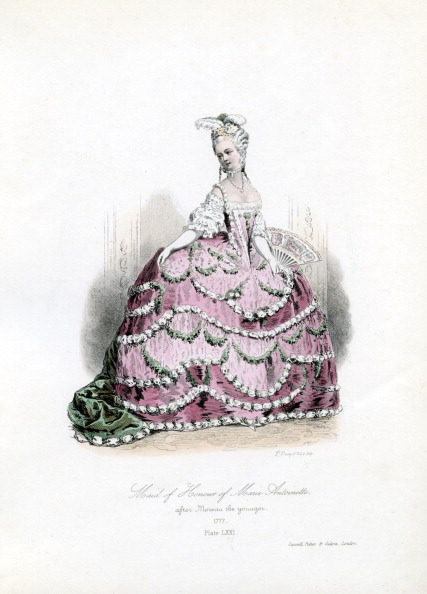 18th Century「Maid of Honour of Marie Antoinette」:写真・画像(7)[壁紙.com]