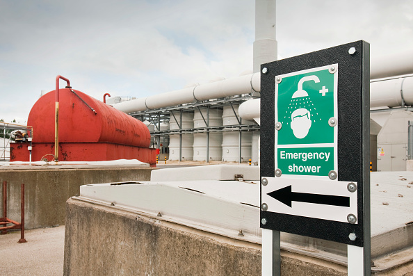 Greenhouse Gas「The odour suppresant plant at Daveyhulme wastewater treatment plant in Manchester, UK. United Utilities Daveyhulme plant process's all of Manchester sewage and deals with 714 million litres a day. The sewage sludge from the plant is put in huge biodigest」:写真・画像(9)[壁紙.com]