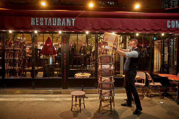 France「Paris Under Coronavirus Curfew」:写真・画像(4)[壁紙.com]