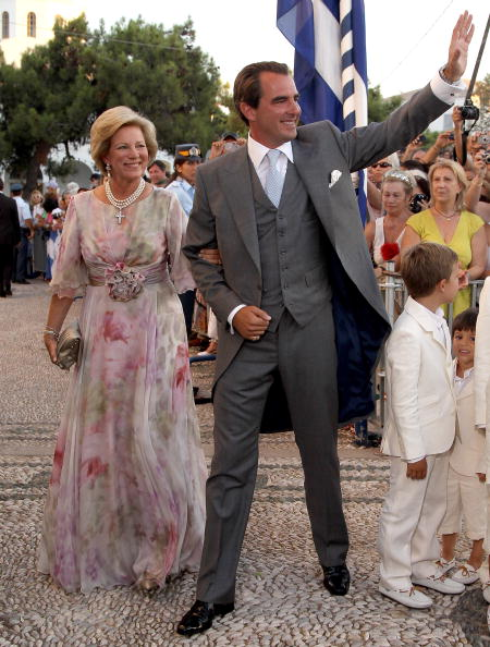 Prince Nikolaos「Wedding of Prince Nikolaos and Miss Tatiana Blatnik - Wedding Service」:写真・画像(14)[壁紙.com]