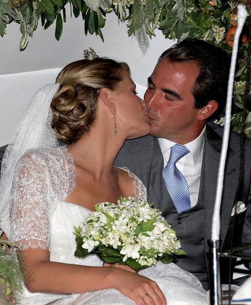 Spetses「Wedding of Prince Nikolaos and Miss Tatiana Blatnik - Wedding Service」:写真・画像(10)[壁紙.com]