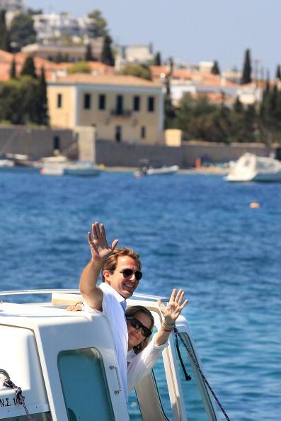 Spetses「Wedding Guests of Prince Nikolaos and Tatiana Blatnik Sighting in Greece」:写真・画像(8)[壁紙.com]