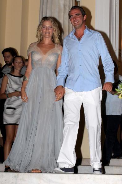 Greek Royalty「Wedding of Prince Nikolaos and Tatiana Blatnik - Pre Wedding Reception」:写真・画像(6)[壁紙.com]