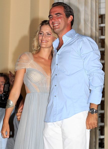 Greek Royalty「Wedding of Prince Nikolaos and Tatiana Blatnik - Pre Wedding Reception」:写真・画像(9)[壁紙.com]