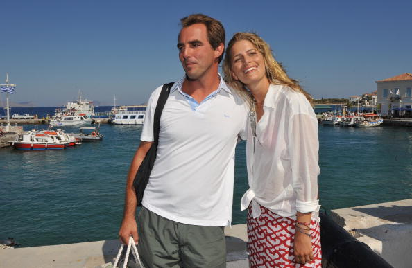 Spetses「Wedding Guests of Prince Nikolaos and Tatiana Blatnik Sighting in Greece」:写真・画像(6)[壁紙.com]