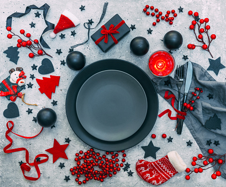 Place Setting「Festive Christmas place setting」:スマホ壁紙(14)