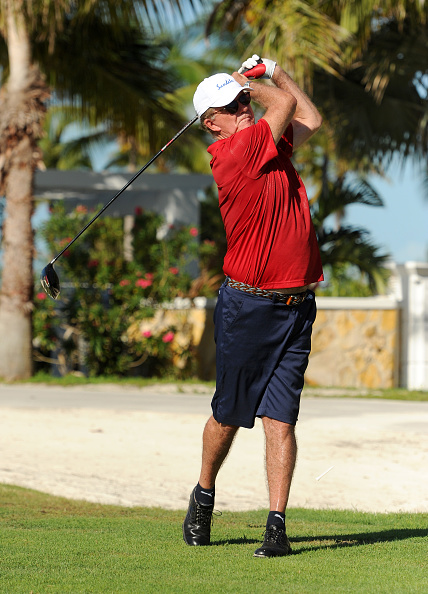 Sports Training Clinic「Sandals Emerald Bay Celebrity Getaway and Golf Weekend - Day Three, Golf Clinic with Greg Norman and Golf Tournament」:写真・画像(14)[壁紙.com]