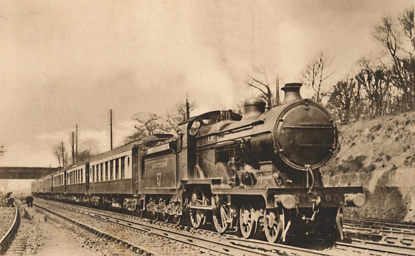 Passenger Train「Down Continental Pullman Limited Express」:写真・画像(3)[壁紙.com]