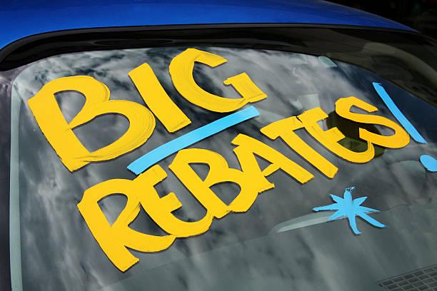 Rebates on vehicles transportation dealership car lot window:スマホ壁紙(壁紙.com)