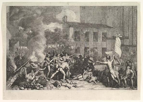 Art Product「The Storming Of The Bastille On 14 July 1789 (Prise De La Bastille Le 14 Juillet 1789)」:写真・画像(3)[壁紙.com]