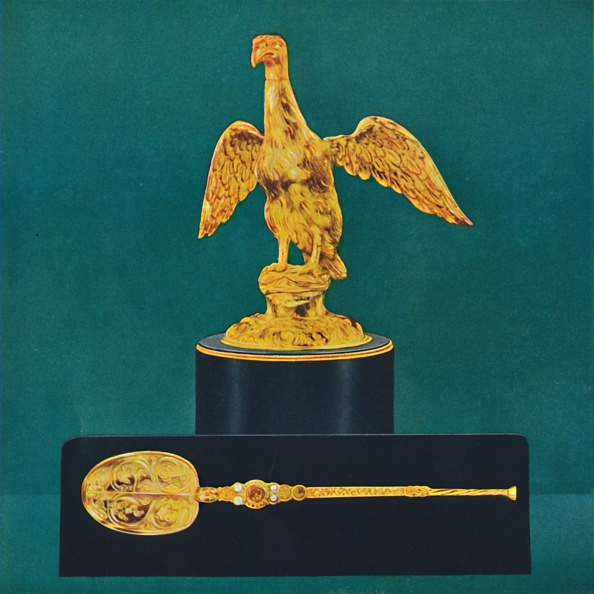 カラー背景「The Ampulla (Or Golden Eagle) And The Spoon」:写真・画像(13)[壁紙.com]