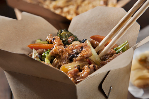 Soy Sauce「Beef in Black Bean Sauce with Vegetables and Fried Rice」:スマホ壁紙(1)