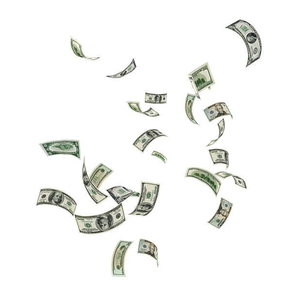 Money Falling:スマホ壁紙(壁紙.com)