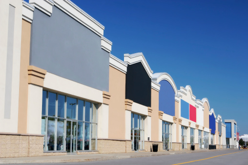 Money to Burn「Modern Strip Mall Store Buildings」:スマホ壁紙(5)