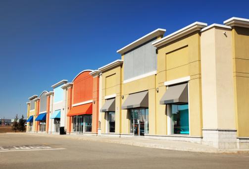 New Business「Modern Strip Mall Store Building」:スマホ壁紙(6)