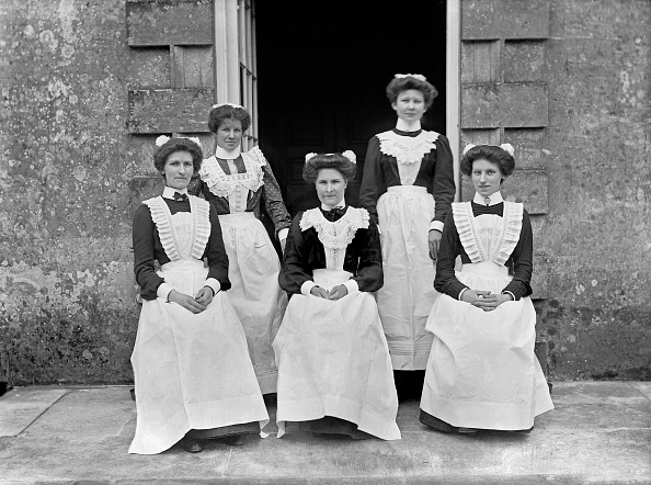 Edwardian Style「Servants At Biddlesden Park House」:写真・画像(10)[壁紙.com]