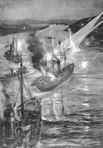 Battle「Russian Batteries repelling Japanese ships」:スマホ壁紙(7)