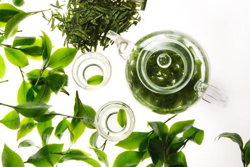 Tea Kettle「Tea,teapot and teacup」:スマホ壁紙(10)