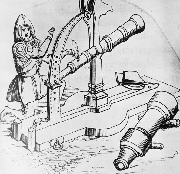 Circa 14th Century「Early Cannon」:写真・画像(3)[壁紙.com]