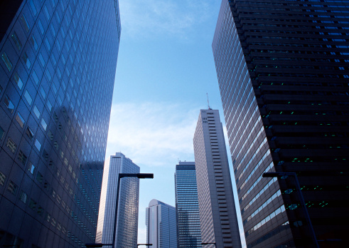 Tokyo - Japan「Building Street」:スマホ壁紙(2)