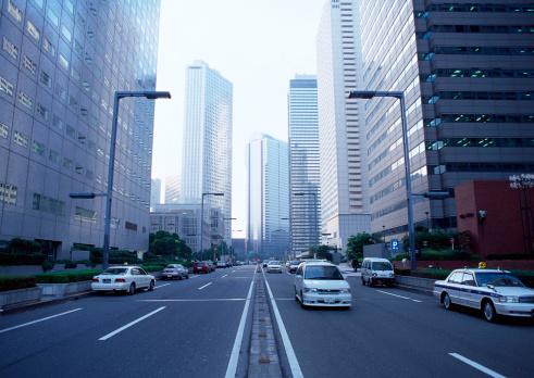 Japan「Building Street」:スマホ壁紙(16)