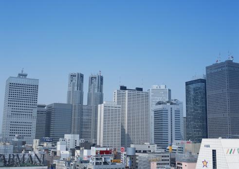 Tokyo - Japan「Building Street」:スマホ壁紙(7)