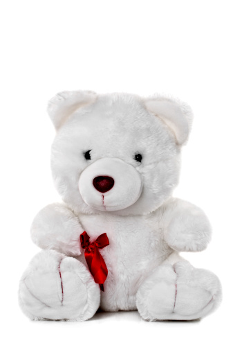 Teddy Bear「White Teddy Bear」:スマホ壁紙(17)