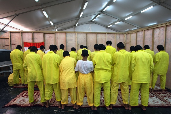 Camp Cropper「US Military Holds Thousands Of Detainees In Baghdad」:写真・画像(4)[壁紙.com]