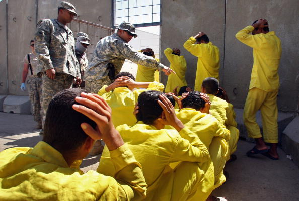 Baghdad「US Military Holds Thousands Of Detainees In Baghdad」:写真・画像(18)[壁紙.com]