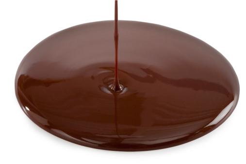 チョコレート「注ぐチョコレート」:スマホ壁紙(6)