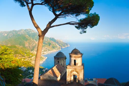 アマルフィ海岸「Ravello (カンパニア、アマルフィ海岸、イタリア)」:スマホ壁紙(5)