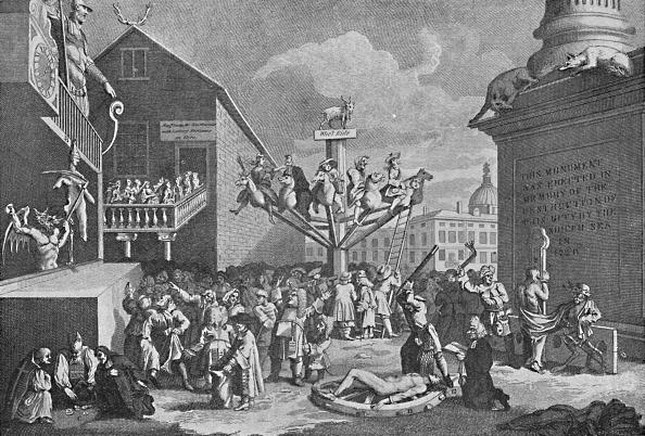 女「The South Sea Bubble From A Print By William Hogarth 1721」:写真・画像(4)[壁紙.com]