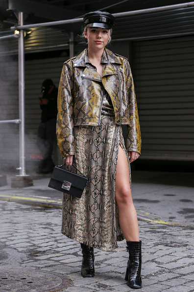 Street Style「Street Style - New York Fashion Week September 2018 - Day 7」:写真・画像(8)[壁紙.com]