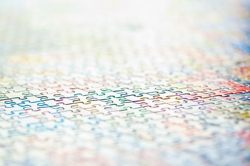 セレクティブフォーカス「Jigsaw」:スマホ壁紙(19)