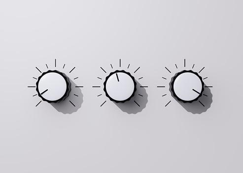 Three Objects「Control knobs」:スマホ壁紙(15)
