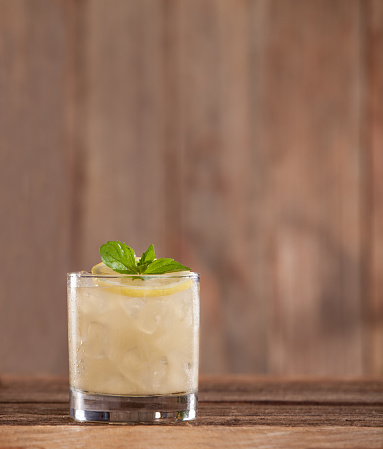 Juice - Drink「Lemon Rye Smash Cocktail」:スマホ壁紙(16)
