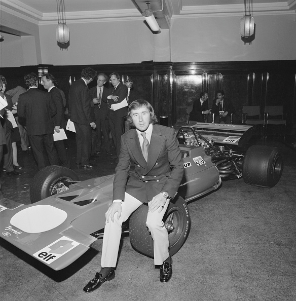 Launch Event「Jackie Stewart At Tyrrell 001 Launch」:写真・画像(9)[壁紙.com]