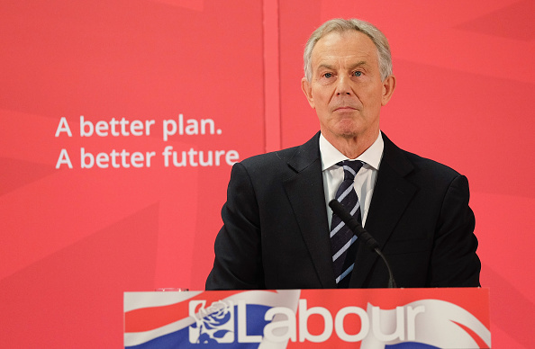 Business Finance and Industry「Former Prime Minister Tony Blair Returns To His Old Constituency」:写真・画像(9)[壁紙.com]