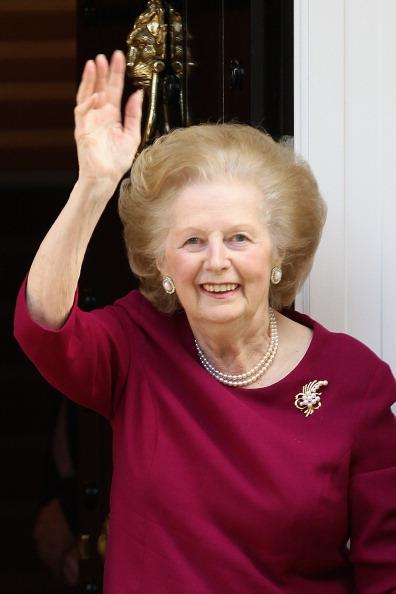 Margaret Thatcher「Margaret Thatcher Leaves The Cromwell Hospital After A Recent Bout Of Flu」:写真・画像(6)[壁紙.com]