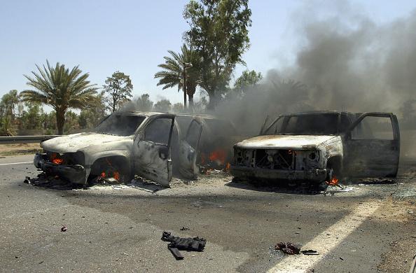 Baghdad「Insurgents Attack Roadside Targets In Iraq」:写真・画像(5)[壁紙.com]