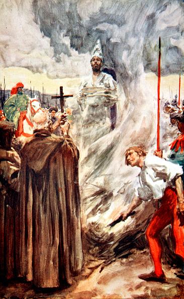 Wooden Post「The Burning Of John Huss 6 July 1415 (1913)」:写真・画像(13)[壁紙.com]