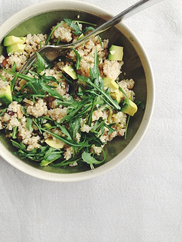 Arugula「Moroccan spiced quinoa salad with avocado」:スマホ壁紙(6)
