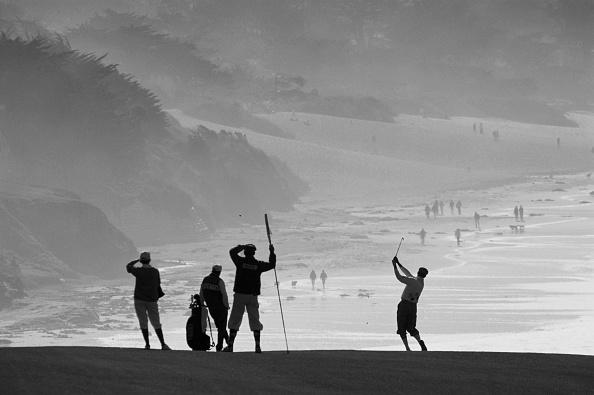 風景「AT&T Pebble Beach Pro-Am Golf」:写真・画像(2)[壁紙.com]