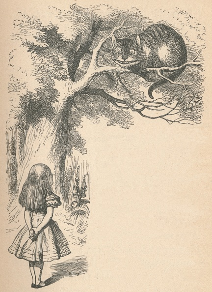 Fairy Tale「Alice And The Cheshire Cat, 1889」:写真・画像(7)[壁紙.com]
