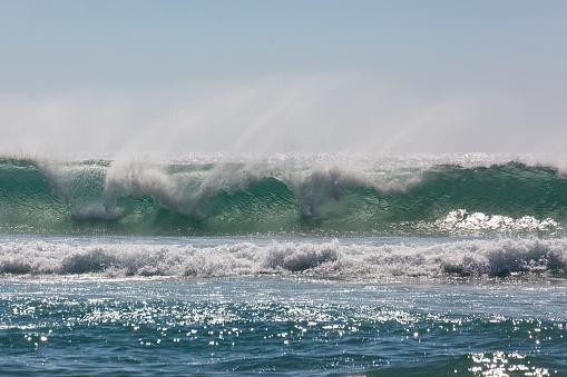 波「Playa de Tonel in the Algarve」:スマホ壁紙(13)