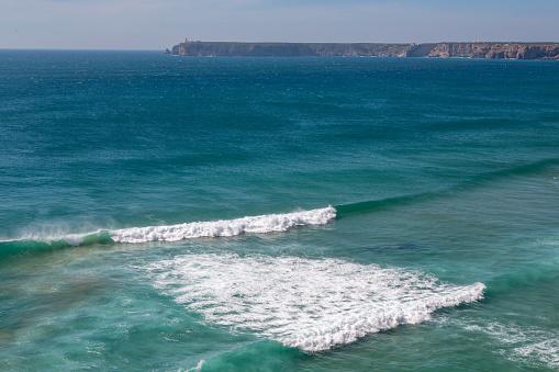 波「Playa de Tonel in the Algarve」:スマホ壁紙(8)