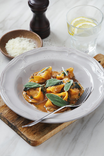 Lemon Soda「Tortelloni with meat, sage and demi-glace sauce」:スマホ壁紙(9)