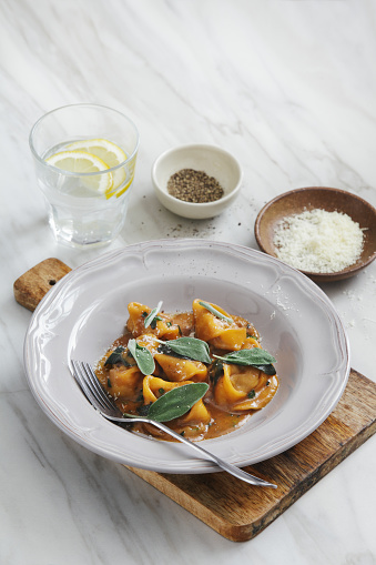 Lemon Soda「Tortelloni with meat, sage and demi-glace sauce」:スマホ壁紙(11)